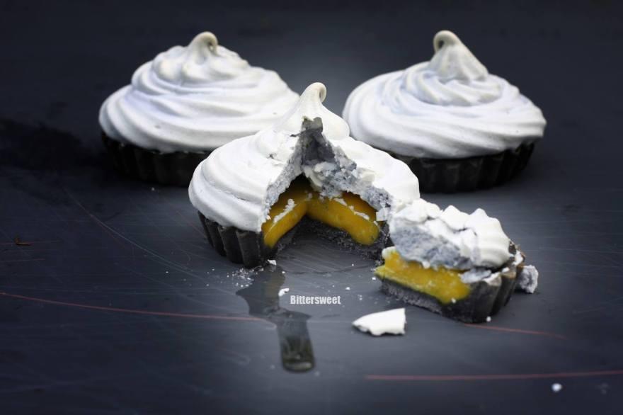 Mini Lemon Depression Meringue Pies by Mi Tulip